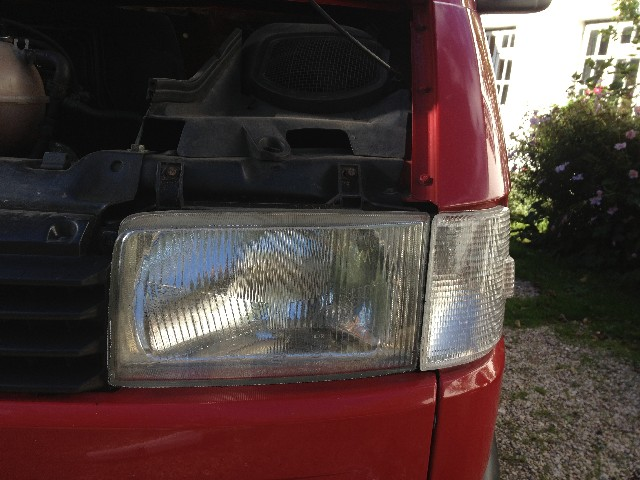 Tinting the lights on my VW T4
