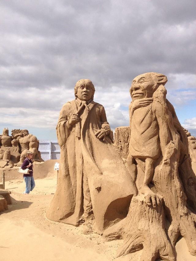 Weston Super Mare Sand Sculptures