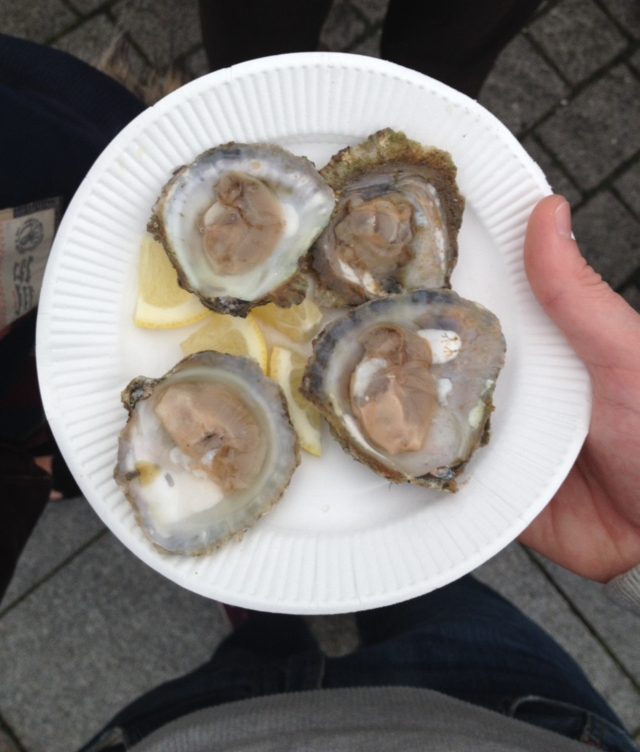 Sunday at the Falmouth Oyster Festival