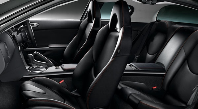 mazda rx 8 2013 interior images galleries with a bite. Black Bedroom Furniture Sets. Home Design Ideas