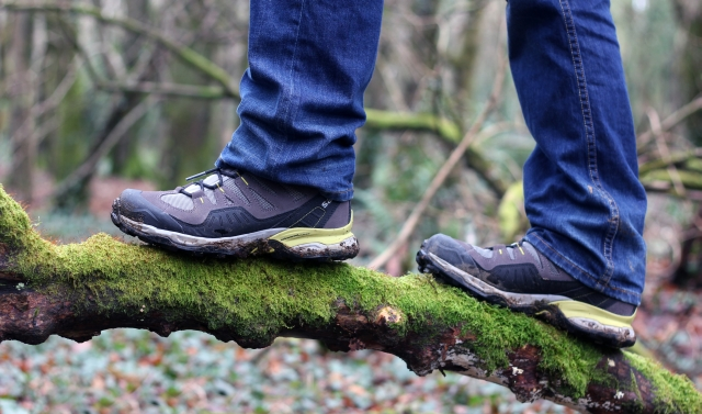 Tehidy Woods & Coastal Path Walk In Salomon Hiking Boots