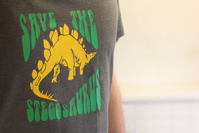 Awesome Dinosaur T Shirt from Red Molotov