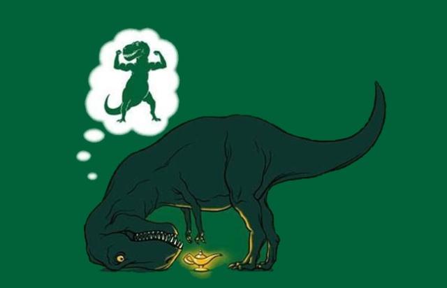 Funny Dinosaur