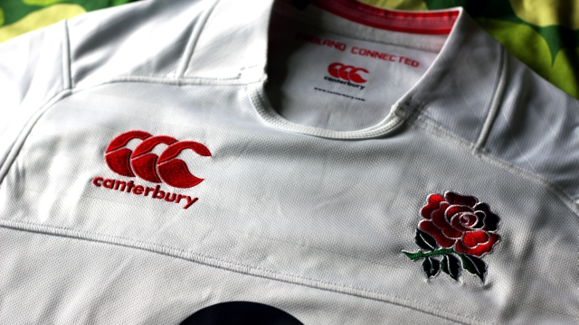 England Rugby Rose Shirt