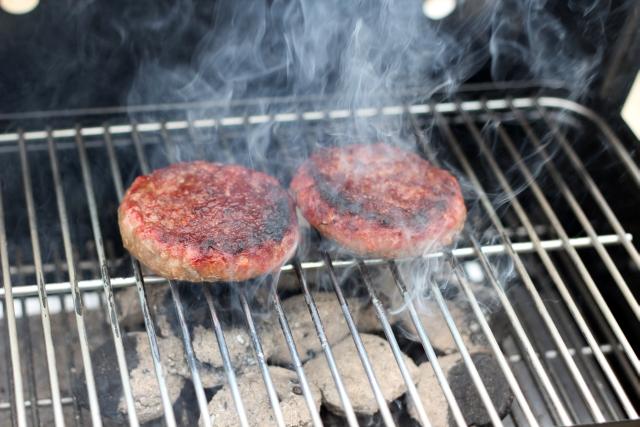 Weber Burgers BBQ
