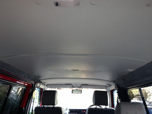 VW T4 Transporter Roof lining