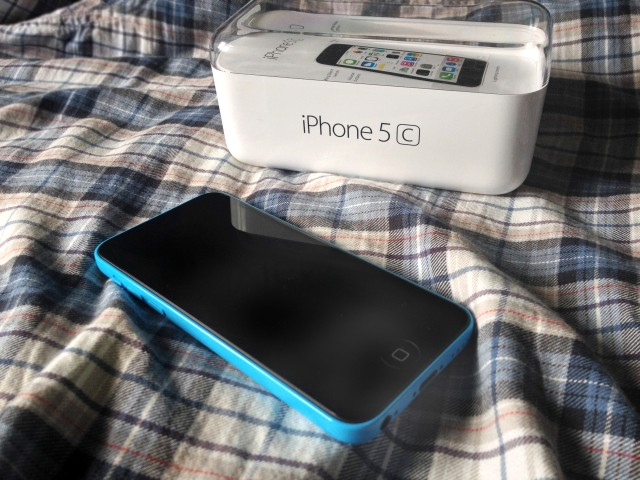 iPhone 5c New Blue