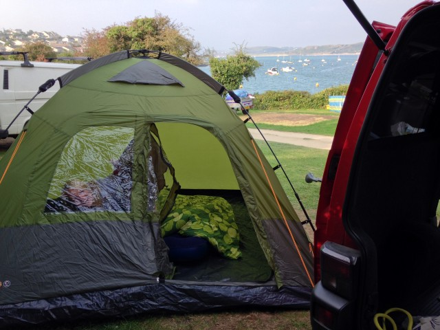 Coleman Instant Dome 5 & Coleman Instant Dome 5 Tent Review Whilst Camping In Cornwall ...