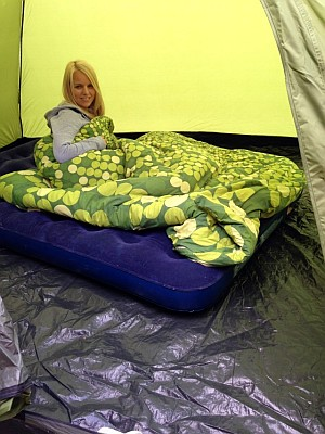 ... Instant Dome 5 Tent new Coleman ...  sc 1 st  Wild Tide & Coleman Instant Dome 5 Tent Review Whilst Camping In Cornwall ...
