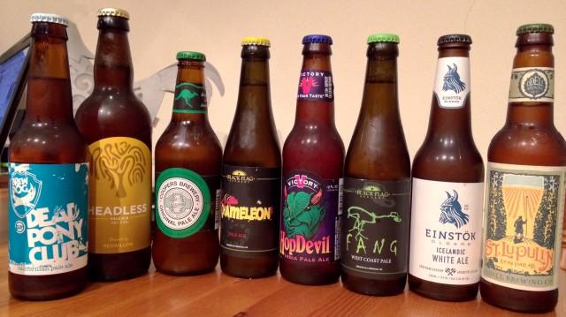 Bottled Beer Selection