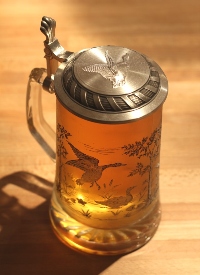 Duck Beer Stein Close Up