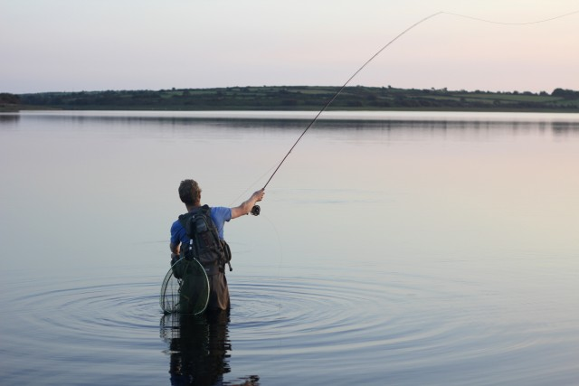 Fly fishing stithians Cornwall