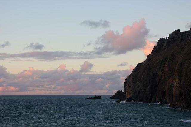Sunset Cornwall North Coast