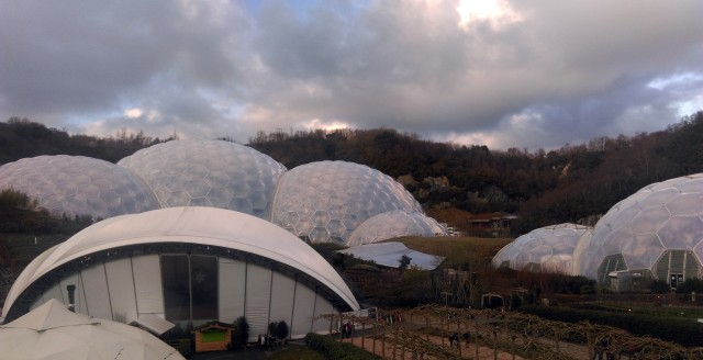 Eden Project Ice Skating Biomes