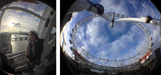 London Eye Fish Eye