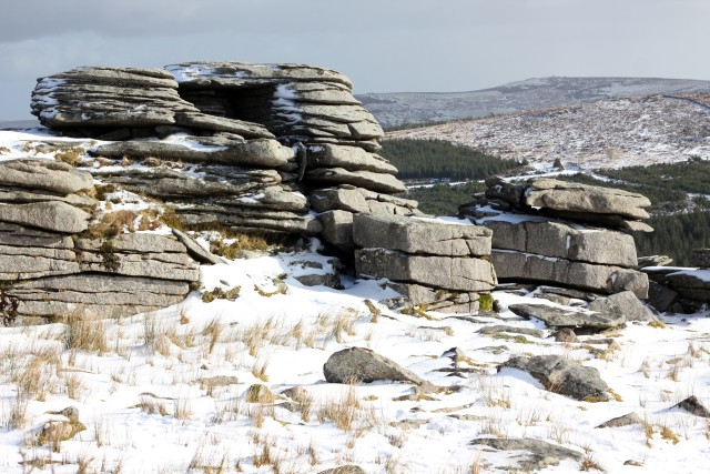 Dartmoor in the Snow & Big Balls Beanies