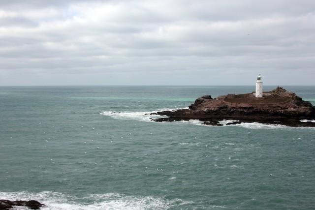 Godrevy Cornwall Lighthouse Gannets