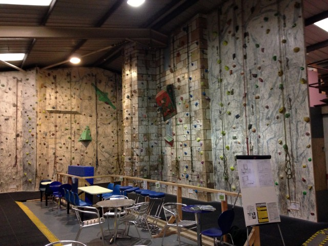 Granite Planet Climbing Wall Penryn