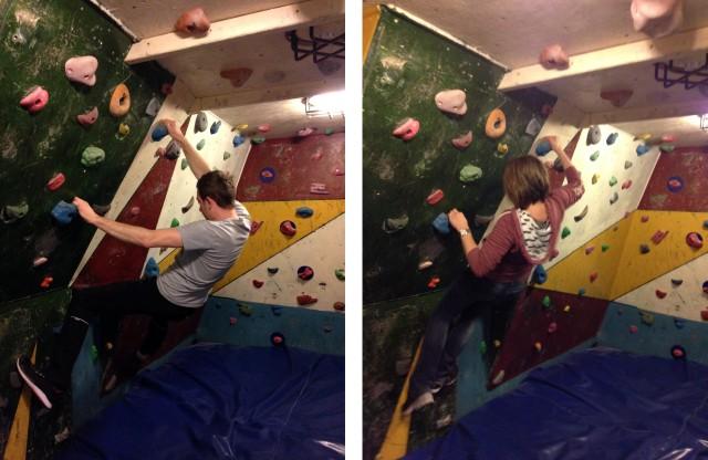 Granite Planet Climbing Wall