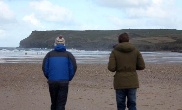 Polzeath Beach Walk