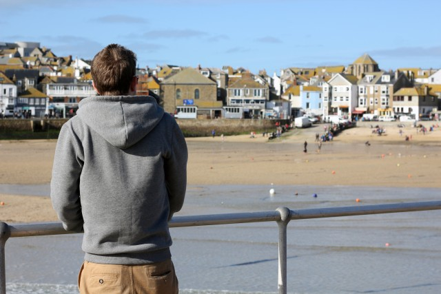 Visit to St Ives & Weird Fish Hoody Review
