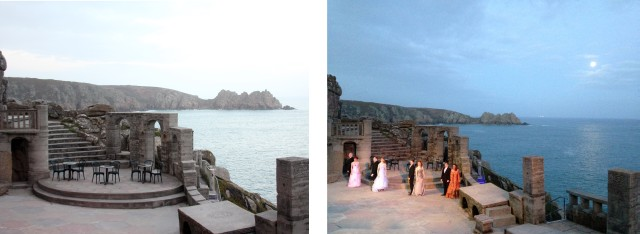Minack Theatre at Night Porthcurno