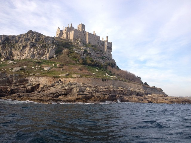 St Michaels Mount from Water