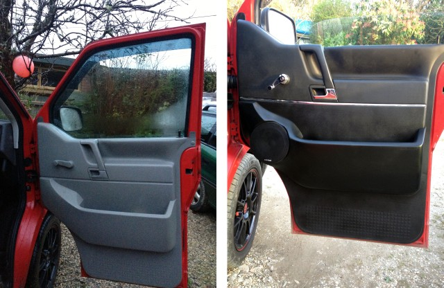 VW T4 Audiosport speakers Door Pods