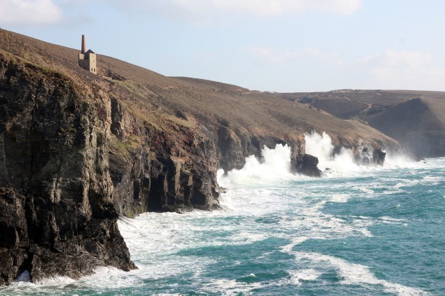 St Agnes Wheal Coates Fishing Cornwall