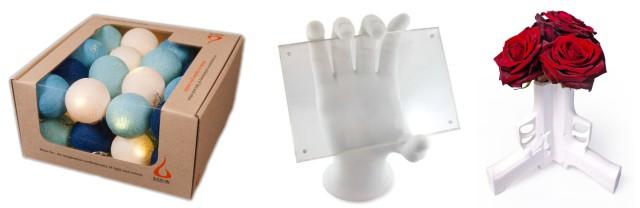 Ambient Balls Gun Vase Hand Frame