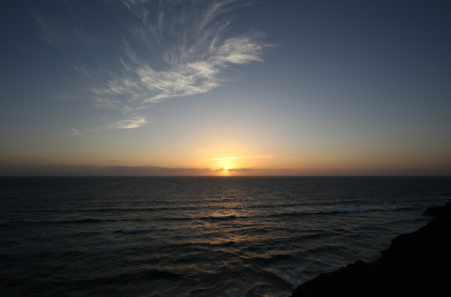 Cornwall North Coast Sunset