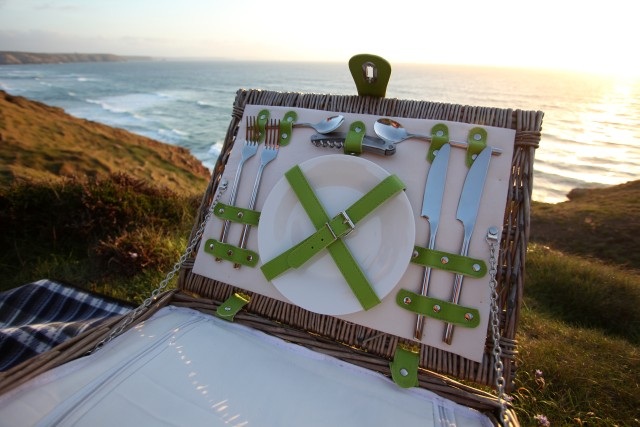 Picnic Hampers on The Cornish North Coast