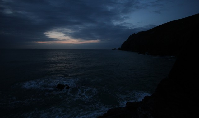 Tubbies Head Cornwall Night Fishing