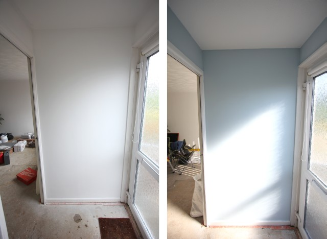 Before and After Graham and Brown Paint