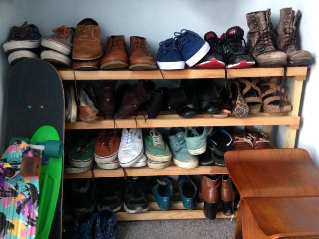 Shoe Rack Home Made