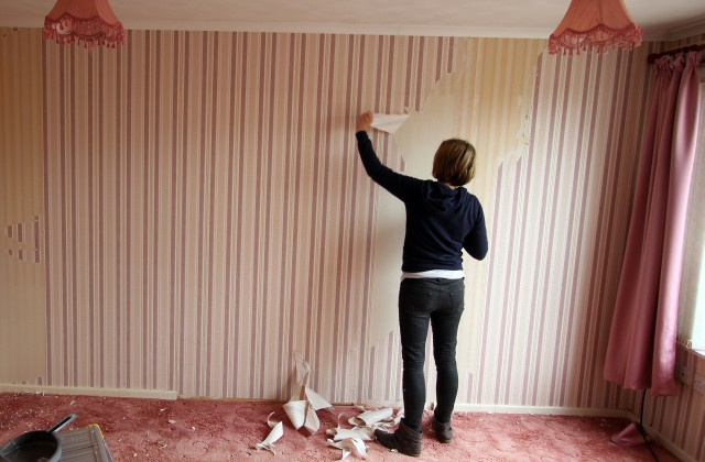 Stripping Horrible Wallpaper