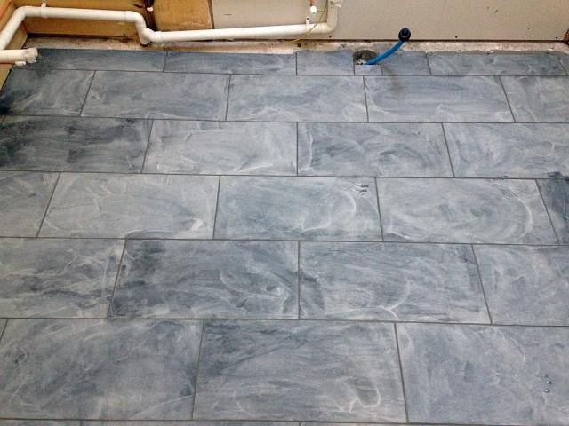 My Kitchen Renovation - Part 2 - Tiling The Floor - Wild Tide