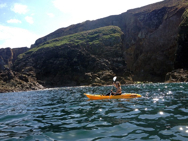 Kayak Fatyak Kaafu Cornwall Sea