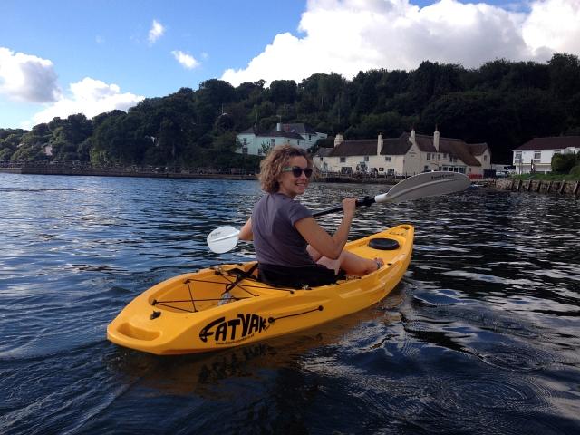 Pandora Inn Kayak Paddle