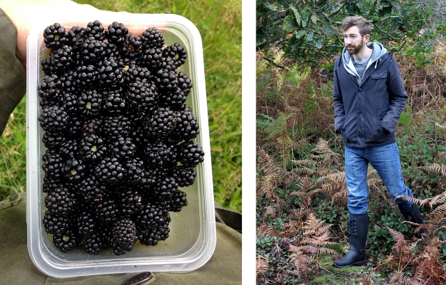Apple and Blackberry Crumble - Foraging and Muck Boots Review ...