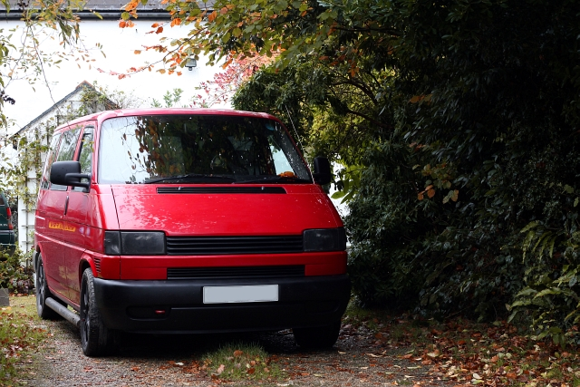 VW T4 Red