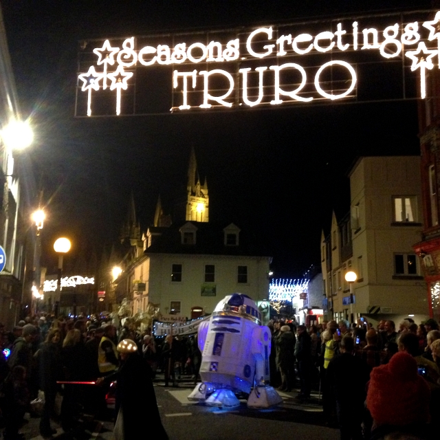Truro City Of Lights R2D2