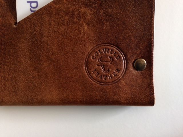 Wallet Colville Leather Branded