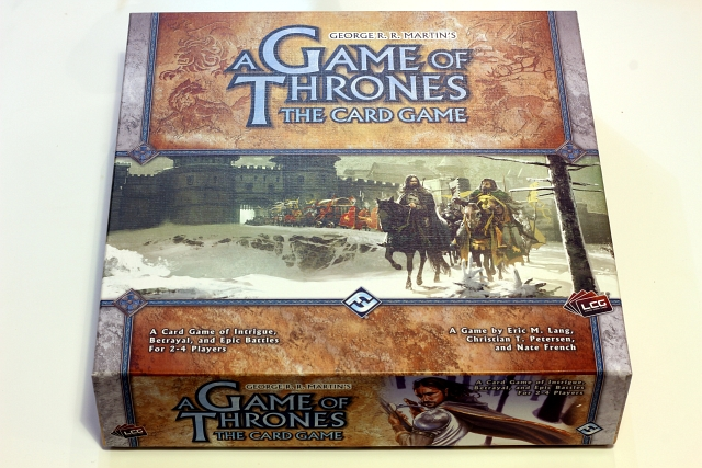 A Game of Thrones The Card Game Box