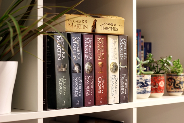 A Game of thrones book set