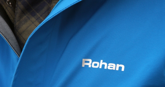 Blue Rohan Logo Coat