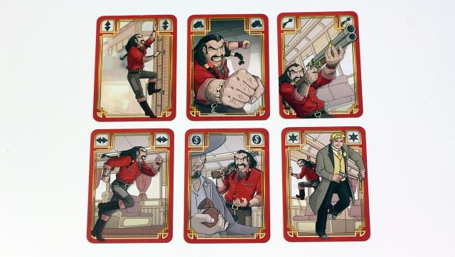 Colt Express Cards