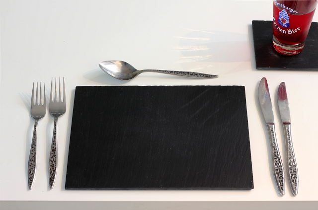 Garden Trading Slate Placemat and Coaster