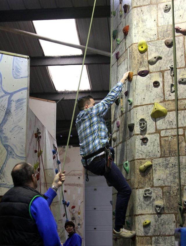 Indoor Climbing Wall