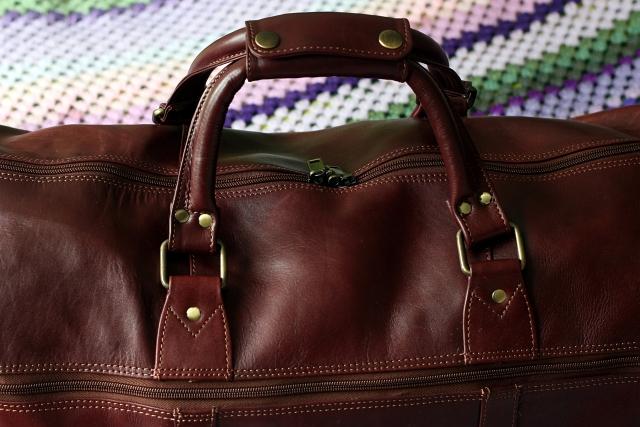 Leather Bag Handle